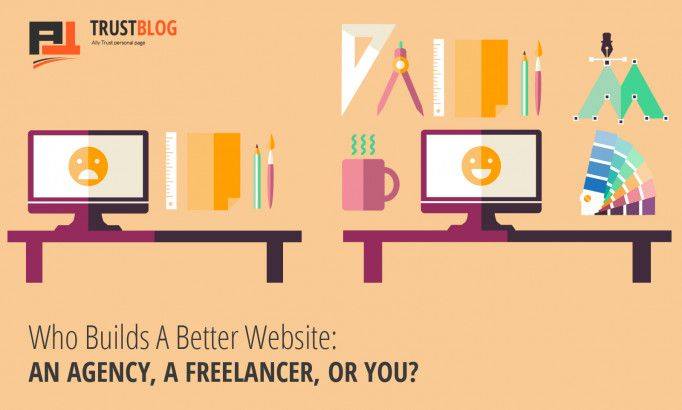 Who Builds A Better Website: An Agency, A Freelancer, or You?